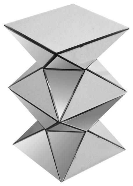 Acme Nyoka Pedestal Stand, Mirrored