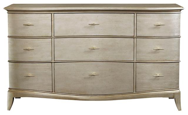 A.r.t. Furniture Starlite Dresser, Silver.