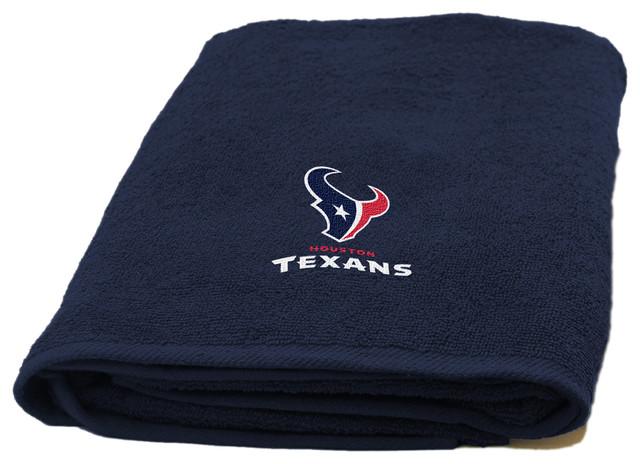Texans Applique Beach Towel.