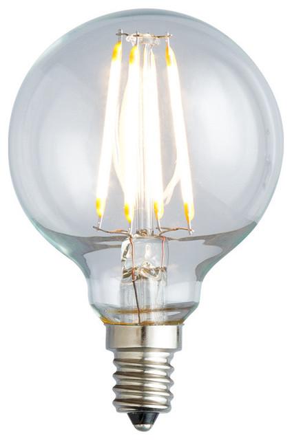 Nostalgic G16 5 Filament Led Globe Lightbulb 2400k 2 0w 25w