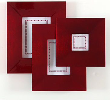 red lacquer frame collection modern picture frames