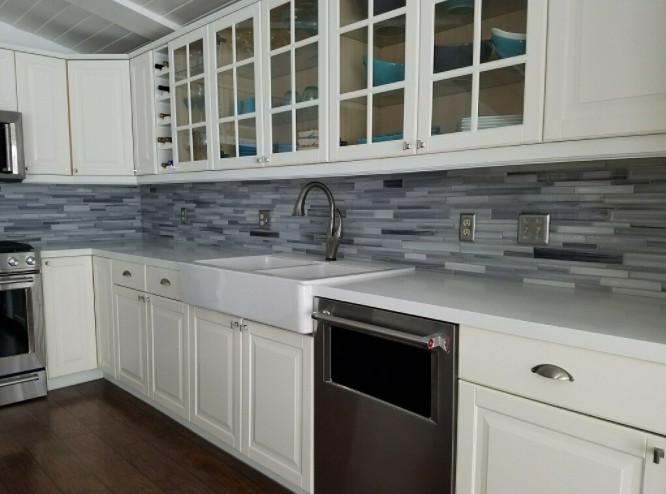 Dana Point Marble Counter & Backplash