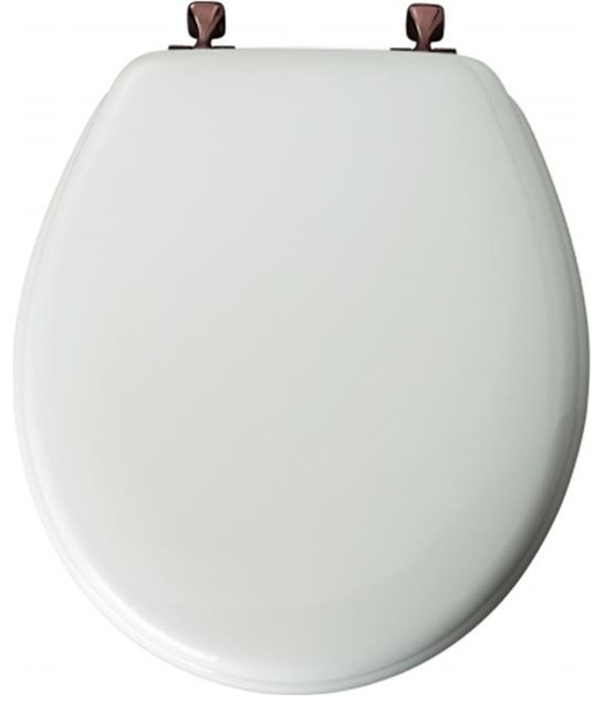 Outstanding Bemis Mfg Div Of Mayfair Toilet Seat White Oil Rubbed Bronze Hinges Gmtry Best Dining Table And Chair Ideas Images Gmtryco