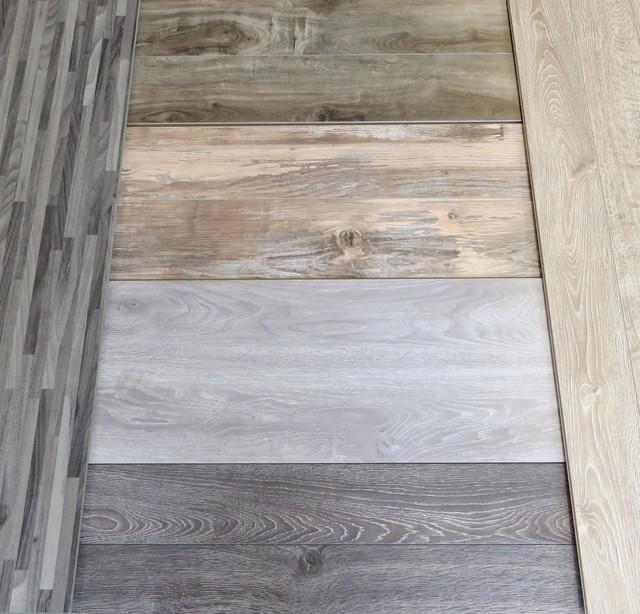 Grey and white wash flooring contemporary laminate for Gray pergo flooring