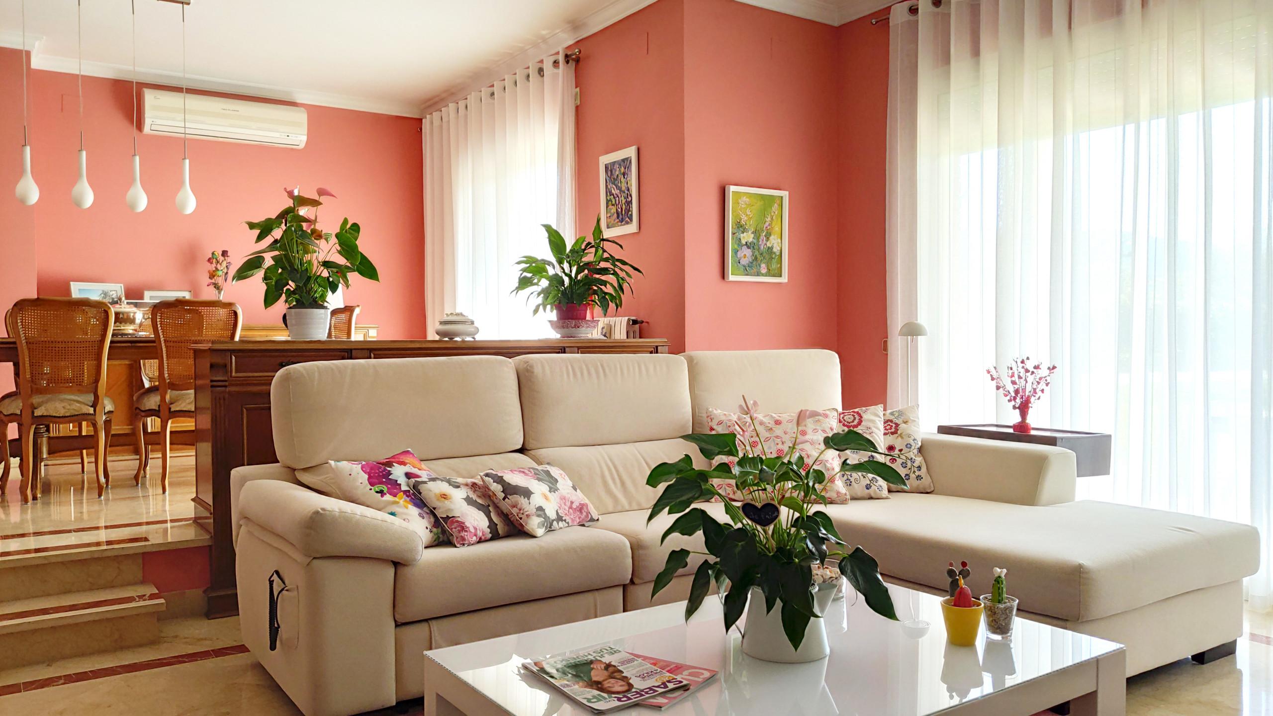 Reforma y redecoración de salón-comedor