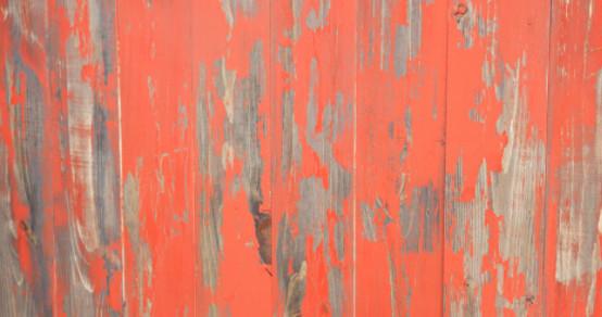 Lenora Distressed Wood Wall Panels, Set Of 6, Orange.