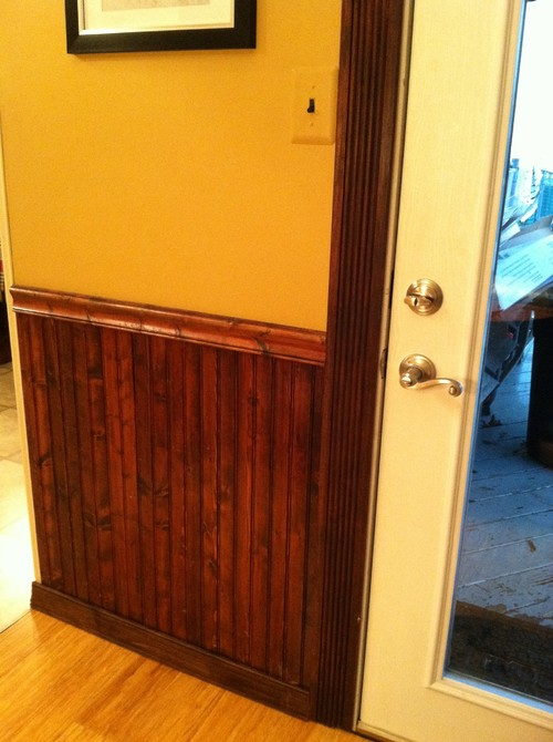 Old Stained Wainscot