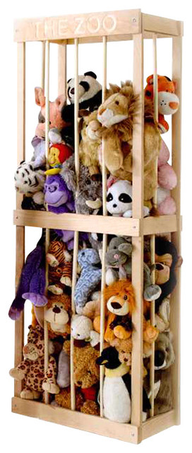 Quot The Zoo Quot For Stuffed Animals Contemporary Kids