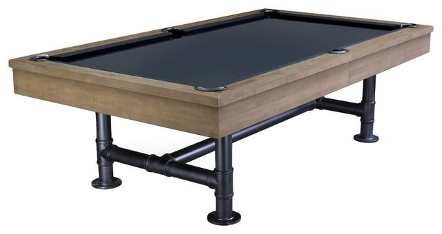 Bedford Industrial Style Pool Table Industrial Game Tables - Industrial style pool table