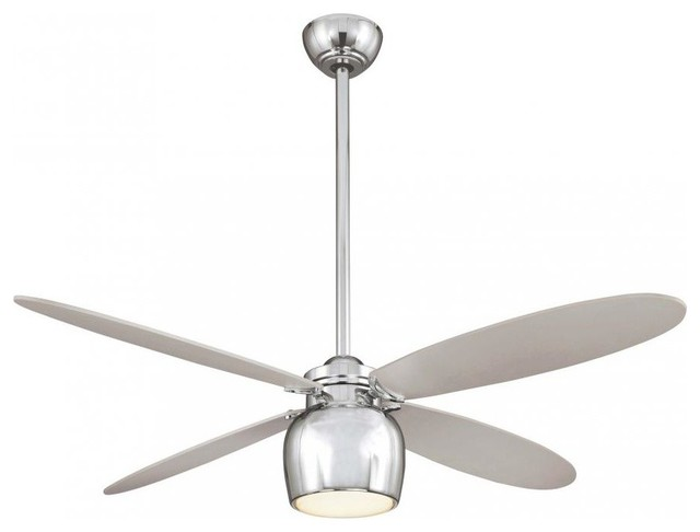 Minka aire minka aire city contempo 1 light chrome ceiling fan minka aire city contempo 1 light chrome ceiling fan contemporary ceiling fans mozeypictures Gallery