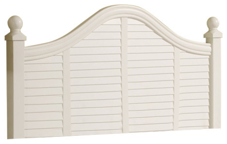 Oceanside Shutter Headboard, King.