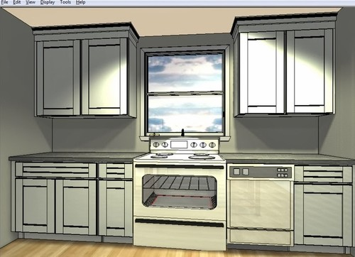 Range & hood in front of window - great idea, or terrible idea?