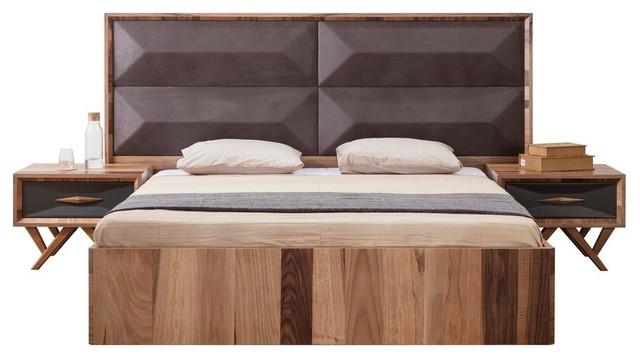 Fantone Upholstered Bed, King.