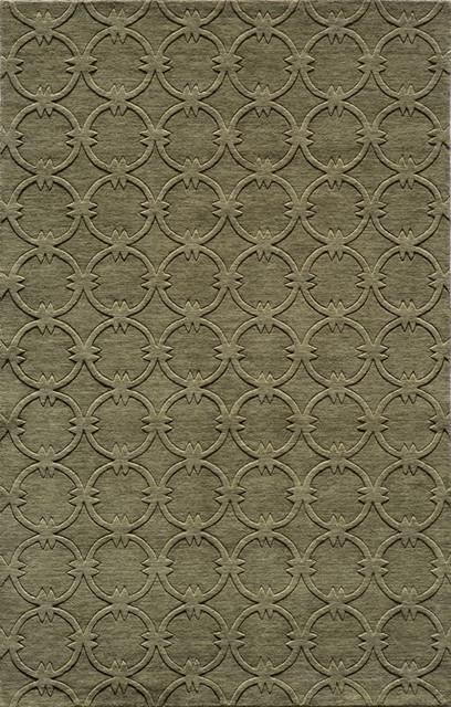 Beautiful Momeni Gramercy Sage Green Geometric Circles Contemporary 2u0027x3u0027 Rug Area  Rugs