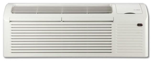 Gree Ptac 7,000 Btu Heat/cool 230v 3kw Heat 12.2 Eer, Residential/commercial.