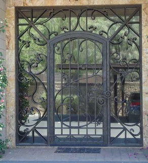 Modern Front Doors  Glass on To Your Ideabook Glass And Iron Front Door The Combination Of Glass