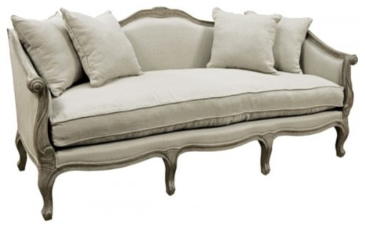 Antique Style Downscrolled Arm Sofa Victorian Sofas By Artefac