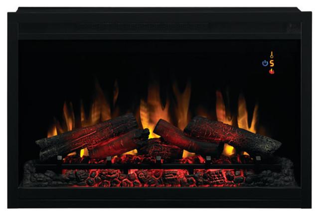 Napoleon B46 Ascent Electric Fireplace, Porcelain Panels, Natural Gas