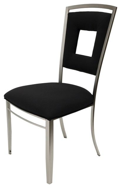 visions furniture. Visions Side Chair, Black Contemporary-dining-chairs Furniture I