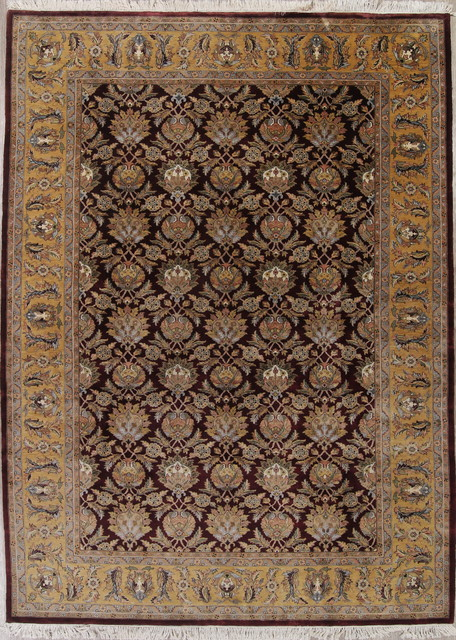Traditional Indian Wool Hand Knotted