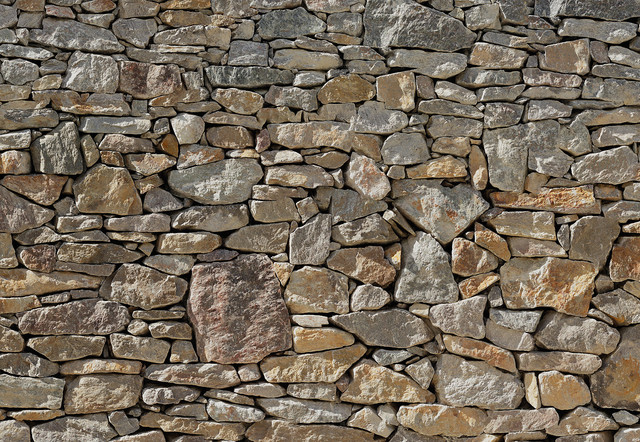 Awe Inspiring Stone Wall Wall Mural Traditional Wallpaper By Brewster Home Largest Home Design Picture Inspirations Pitcheantrous
