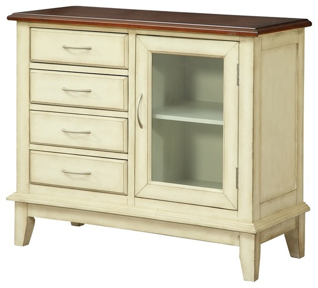 4 Drawer 1 Door Cabinet Accent Chests And Cabinets By