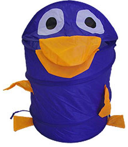 Blue Duck Animal Shaped Nylon Hamper Storage Basket.