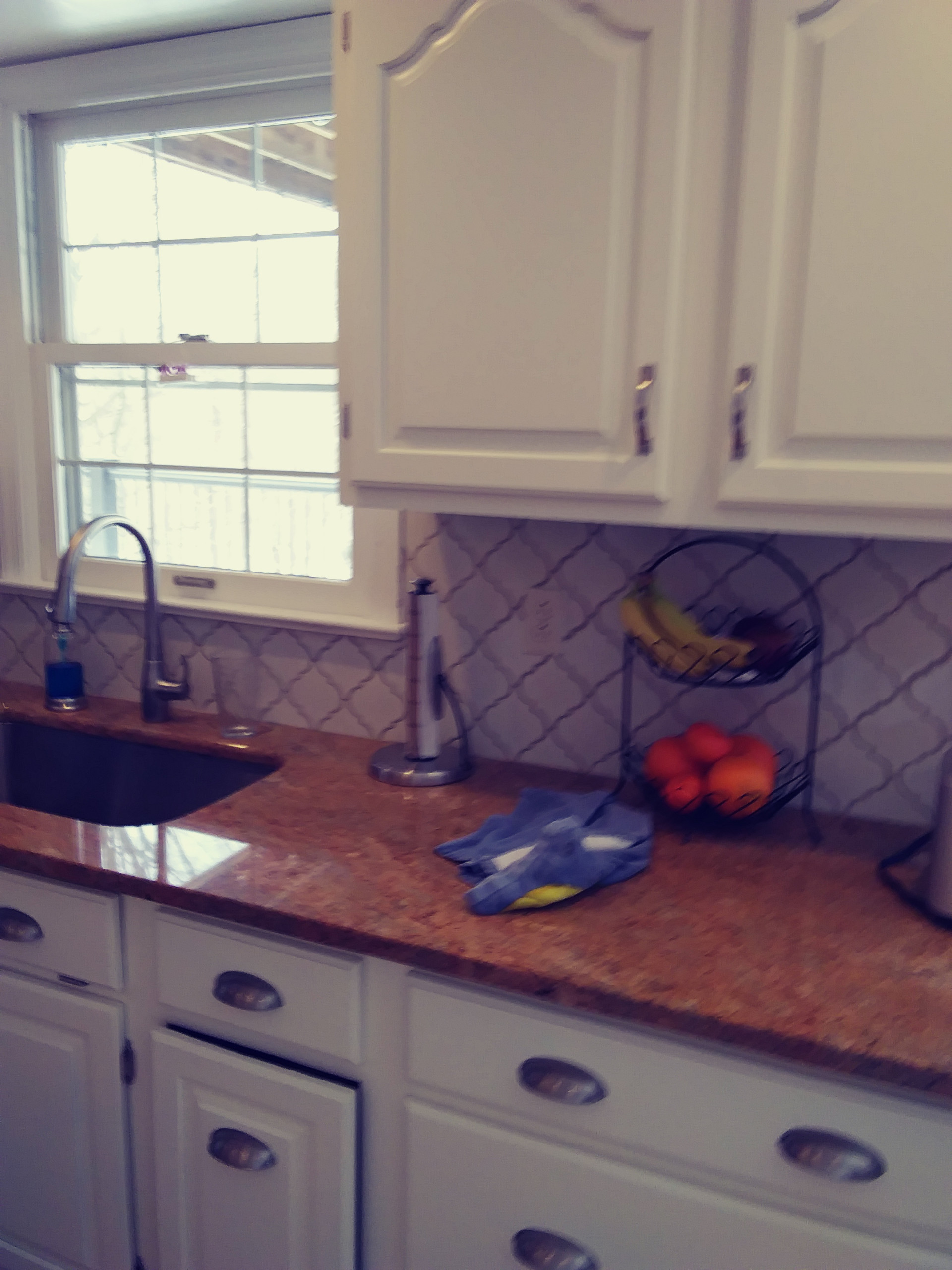 Cabinet Refinishing Project