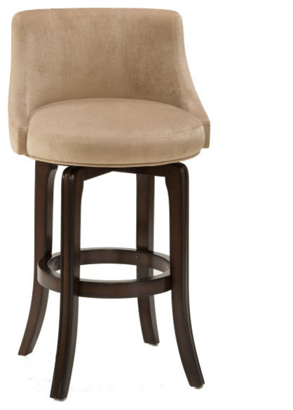 Hillsdale Napa Valley Swivel 30 Inch Barstool In Khaki