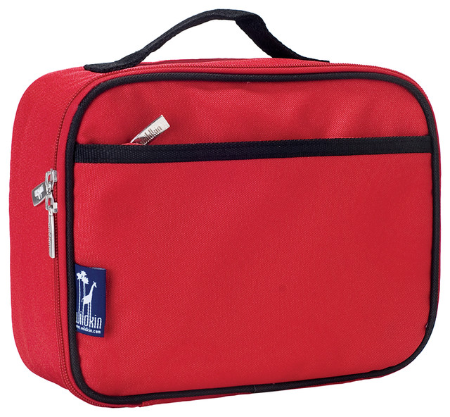 Solid  Lunch Box, Cardinal Red.