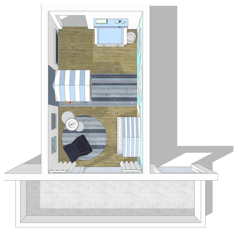 Visualisierung Babyzimmer Bild I