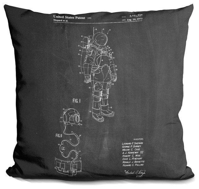 LiLiPi Microphone Decorative Accent Throw Pillow