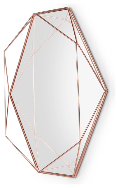 Umbra Prisma Mirror Copper.