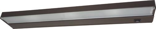 NICOR 21 inch Xenon Undercabinet Light Fixture with Oil-Rubbed Bronze Finish