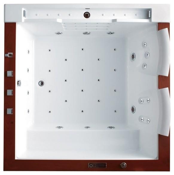 California luxury whirlpool tub bathtubs by aquapeutics llc for Woodbridge 54 modern bathroom freestanding bathtub