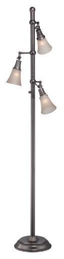 Mercede Floor Lamps-Light Amber.