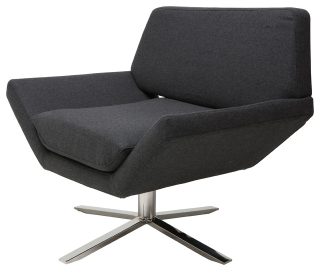 Sly Occasional Chair, Dark Gray.