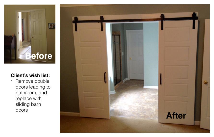 Mullet renovation - barn doors