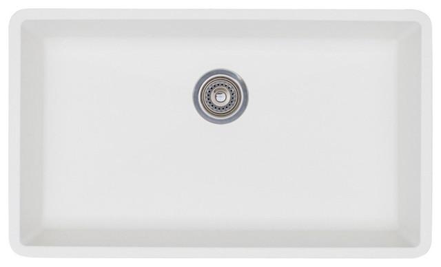 Blanco Precis Super Single Bowl Kitchen Sink White