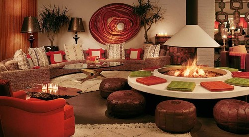 This is an incredible indoor fire pit!