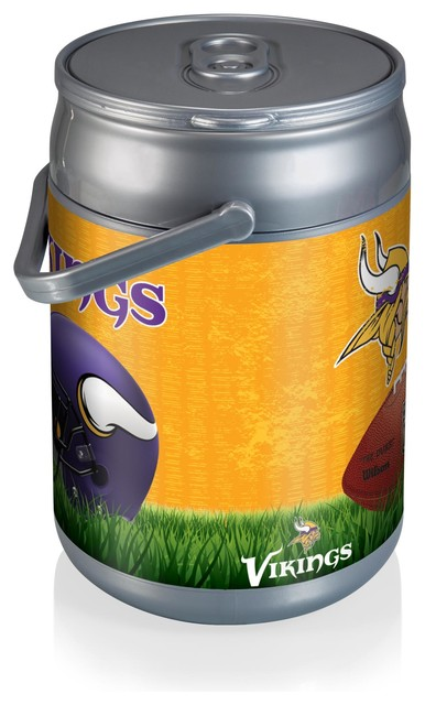 Picnic Time Minnesota Vikings Can Cooler Football Design