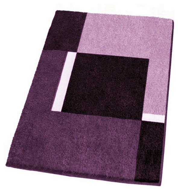 modern non slip washable purple bath rugs contemporary bath mats other by vita futura