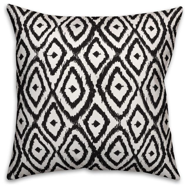 Diamonds 18x18 Outdoor Throw Pillow