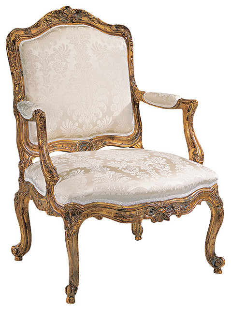 Louis Xv Armchair Victorian Dining Chairs By