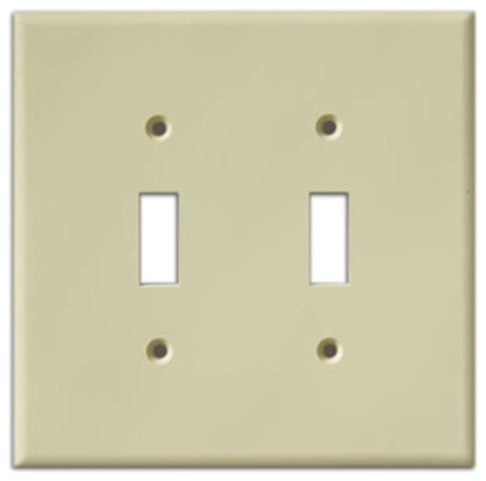 Exceptional InvisiPlate Two Toggle Paintable Plate Cover, Smooth Contemporary Switch  Plates And