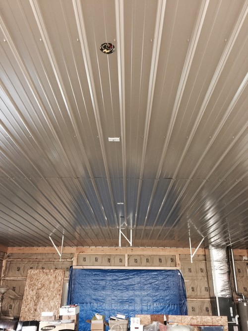 Wonderful I Need Lighting And Other Ideas For My Metal Ceiling Please!