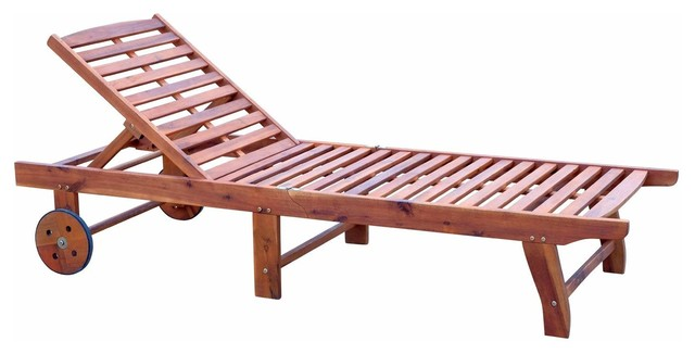 Remarkable Outsunny Wooden Outdoor Folding Chaise Lounge Chair Recliner With Wheels Teak Onthecornerstone Fun Painted Chair Ideas Images Onthecornerstoneorg