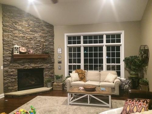 Living Room Furniture Arrangement With Corner Fireplace corner fireplace & living room furniture placing