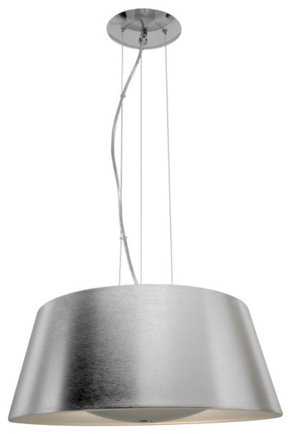 Soho 3 Light Cable Suspended Diffused Pendant Modern Lighting