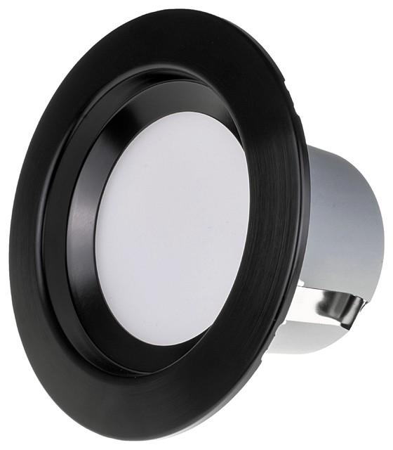Led Recessed Downlight Retrofit Light Fixture Transitional Recessed Lighting Kits By Nicor Lighting